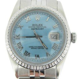 Mens Rolex Stainless Steel Datejust Blue MOP Roman 16030 (SKU 9046416MT)