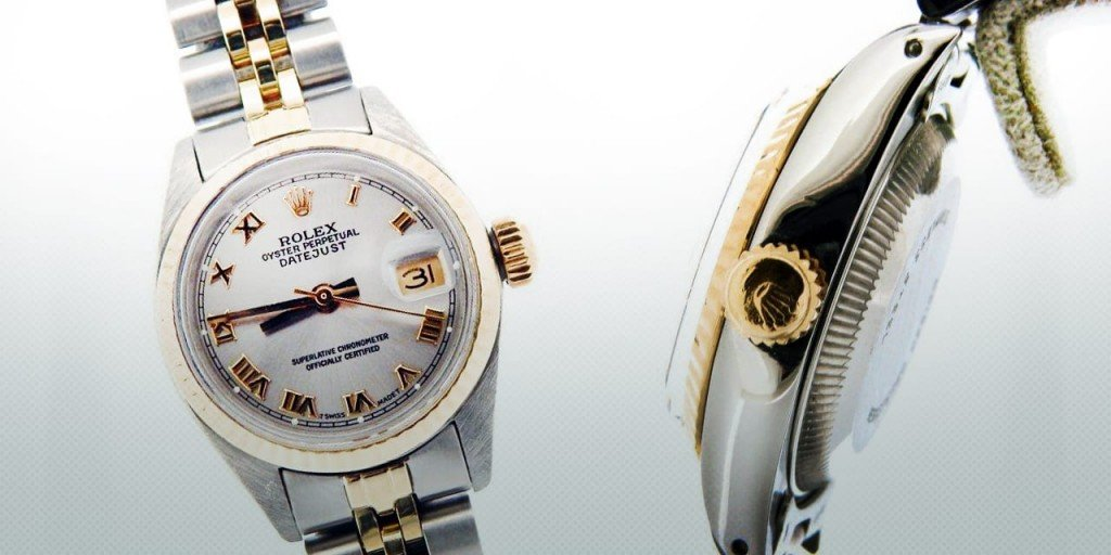 How to Wind and Set a Ladies Rolex DateJust NonQuickset