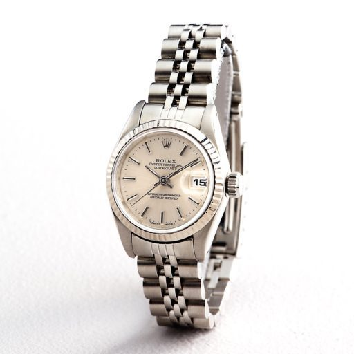 Rolex Stainless Steel Datejust 69174 Silver -4