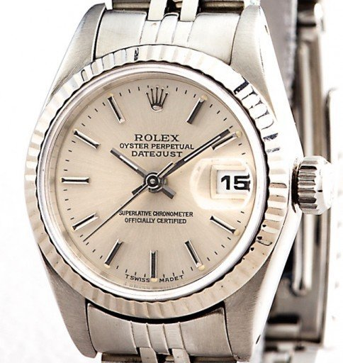 Rolex Stainless Steel Datejust 69174 Silver -1