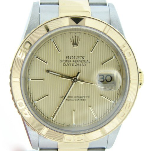 Rolex Two-Tone Datejust Turn-O-Graph 16263-1