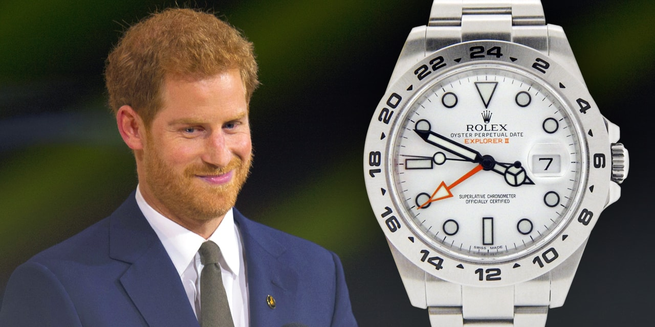 Post image for Prince Harry and his Rolex Explorer II