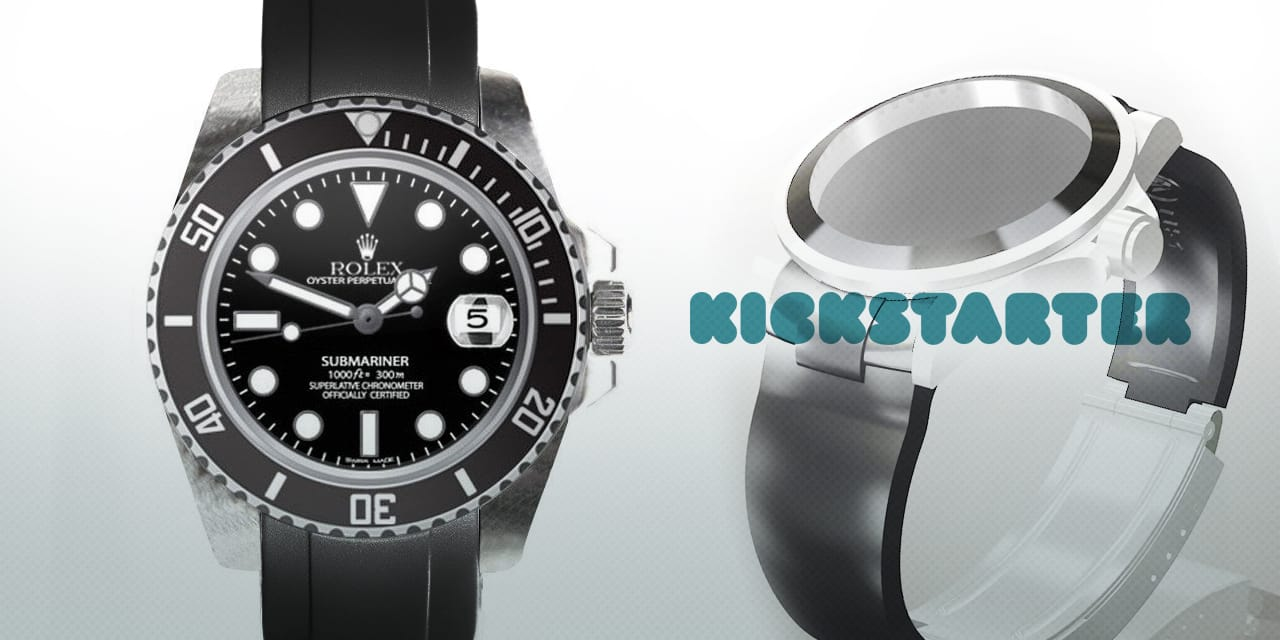 Post image for Cool Rolex Strap on KickStarter