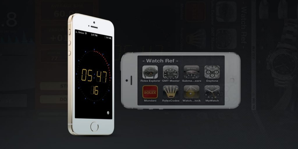 Rolex Apps for your iPhone 5
