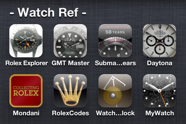 Post image for Rolex Apps for your iPhone 5