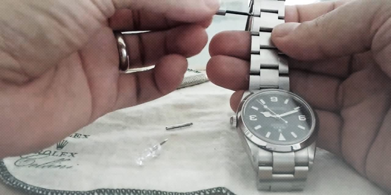 Post image for Fitting a Rolex Bracelet