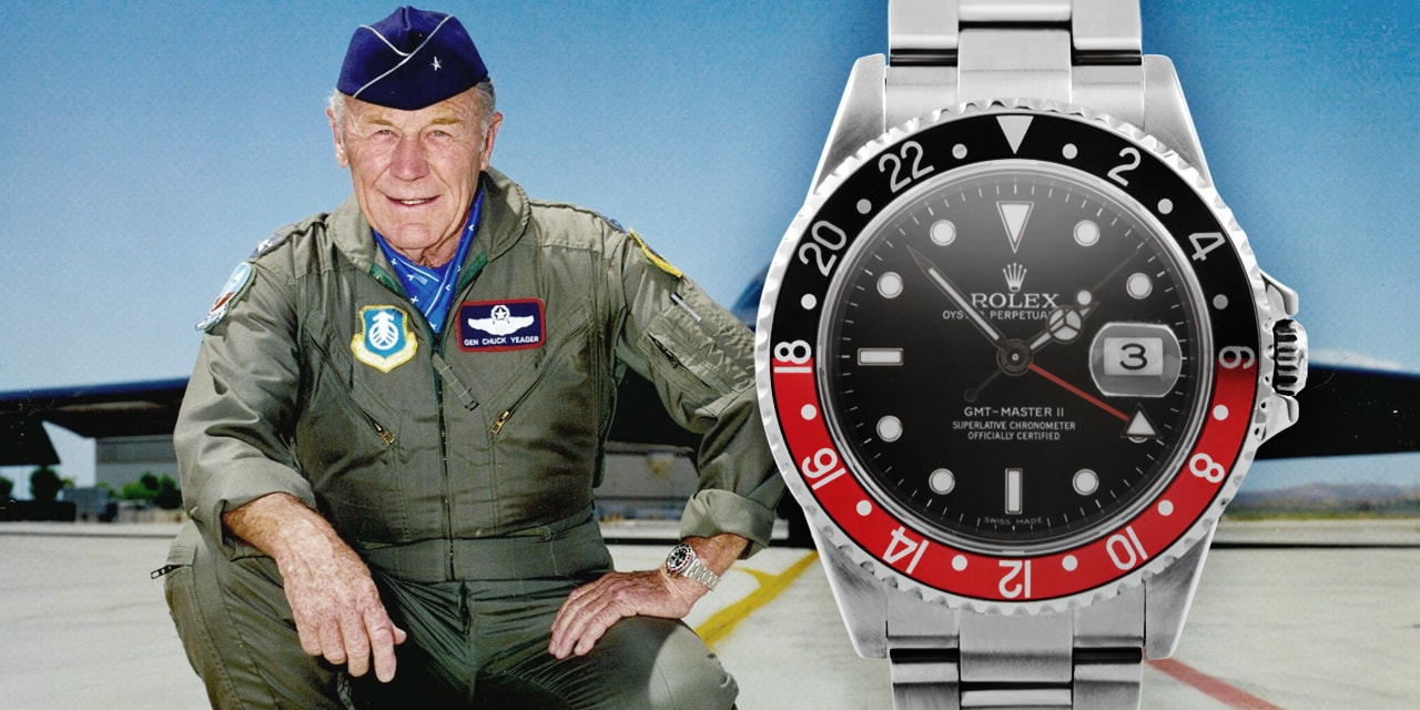 Post image for Yeager does it again at 89 years old, and uh yes, wearing a Rolex