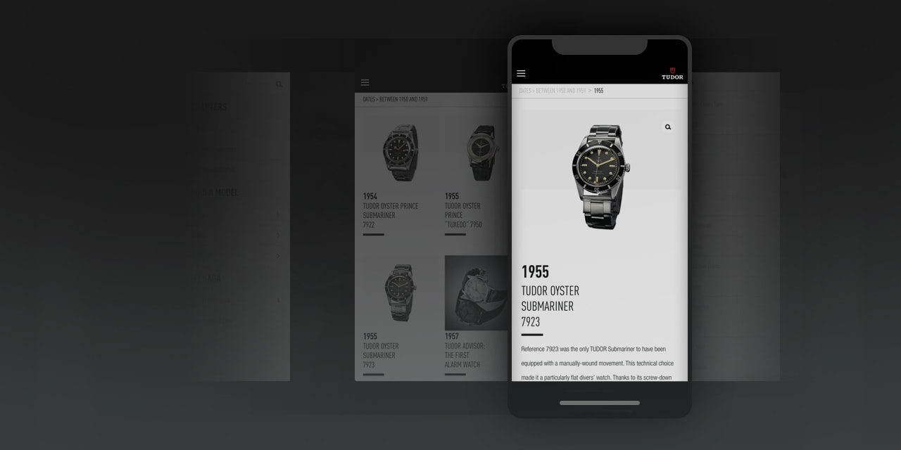 Post image for Rolex reaching new audiences with its updated Tudor iOS app