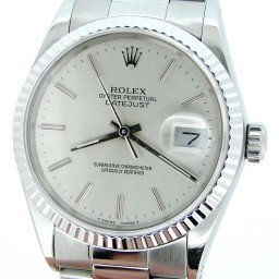 Mens Rolex Stainless Steel Datejust Silver  16234