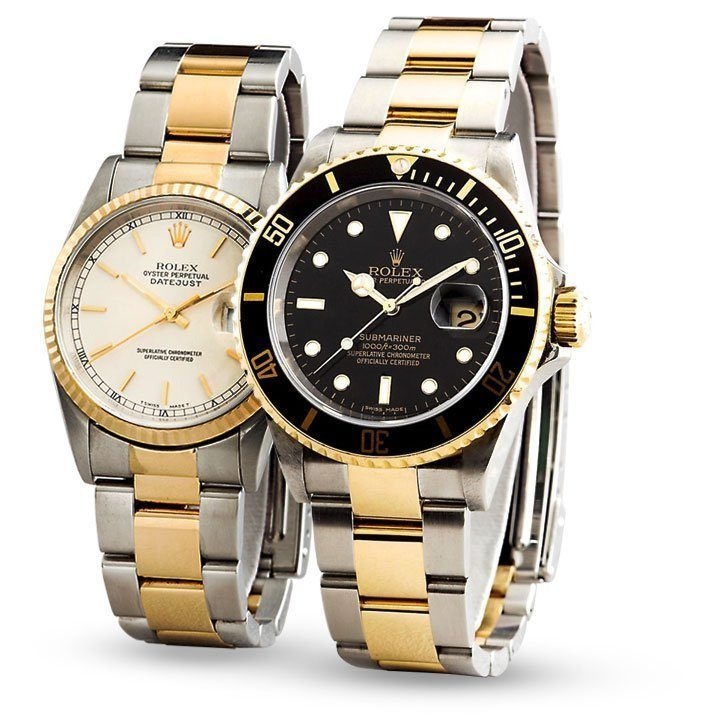 Rolex Datejust to Rolex Submariner