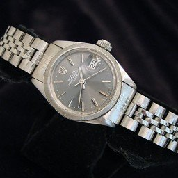 Ladies Rolex Stainless Steel Date Gray Slate  6916 (SKU 3567675MT)