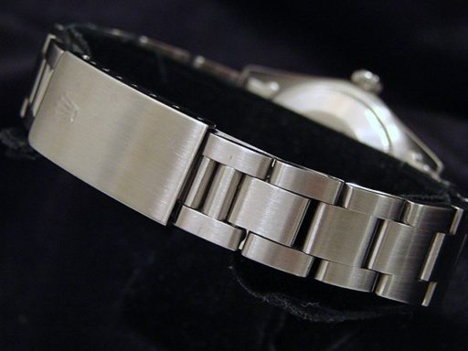 Rolex Stainless Steel Date 15000 Silver -2