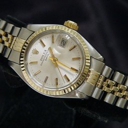 Ladies Rolex Two-Tone 14K/SS Date Silver  6917 (SKU 5638520MT)