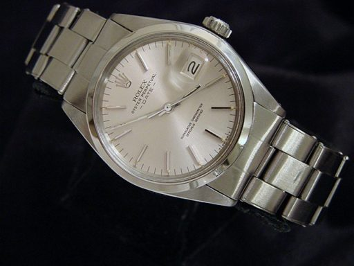 Rolex Stainless Steel Date 1500 Silver -4