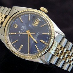 Mens Rolex Two-Tone 14K/SS Datejust Blue  16013 (SKU 5975877MT)