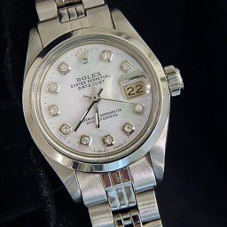 Ladies Rolex Stainless Steel Datejust White MOP Diamond 6916 (SKU 5012815MT)