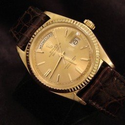 Mens Rolex 18K Gold Day-Date President Champagne  1803 (SKU 1011322MT)