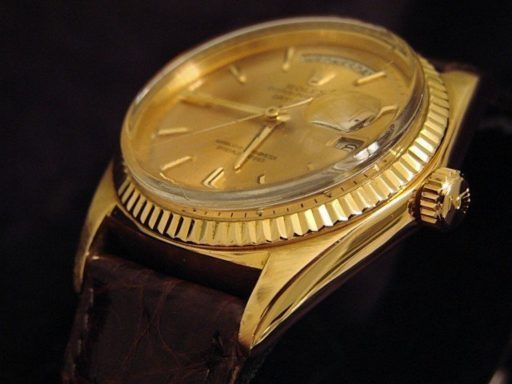 Rolex 18K Yellow Gold Day-Date President 1803 Champagne -5