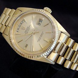 Mens Rolex 18K Gold Day-Date President Champagne  1803 (SKU 41386416321XMT)
