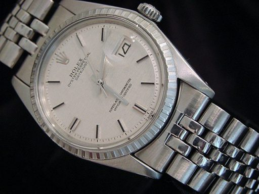 Rolex Stainless Steel Datejust 1603 Silver -4