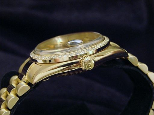 Rolex 18K Yellow Gold Day-Date President 1803 Champagne -3