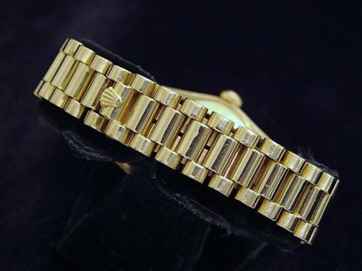 Rolex Yellow Gold Datejust President 68278 Tapestry-3