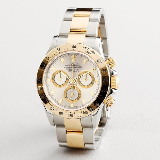 Rolex Two-Tone Daytona 116523 Gray, Slate-4