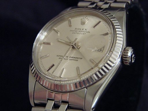 Rolex Stainless Steel Datejust 1601 Silver -3