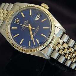 Mens Rolex Two-Tone 14K/SS Datejust Blue  16013 (SKU 5649414MT)