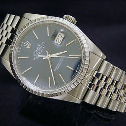 Mens Rolex Stainless Steel Datejust Blue  16220 (SKU X557155MT)