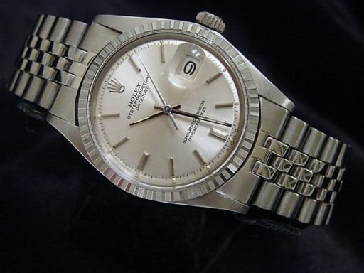 Rolex Stainless Steel Datejust 1603 Silver -3
