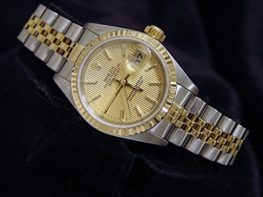 Rolex Two-Tone Datejust 79173 Tapestry -4