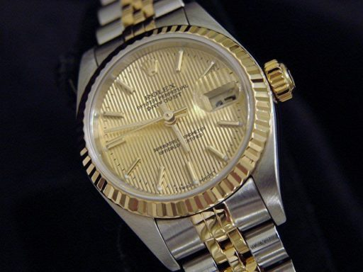 Rolex Two-Tone Datejust 79173 Tapestry -3
