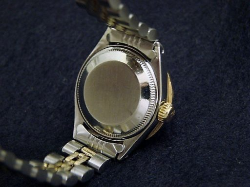 Rolex Two-Tone Datejust 6917 White MOP Diamond-2