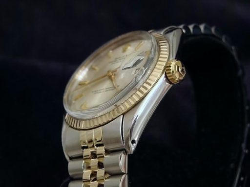 Rolex Two-Tone Datejust 1601 Silver -4