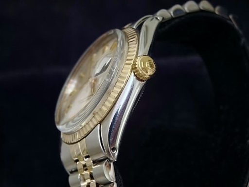 Rolex Two-Tone Datejust 1601 Silver -3