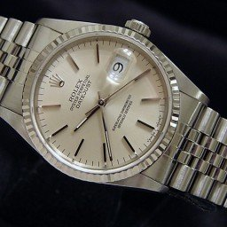Mens Rolex Stainless Steel Datejust Silver  16234 (SKU S559385MT)