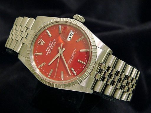 Rolex Stainless Steel Datejust 16030 Red -5