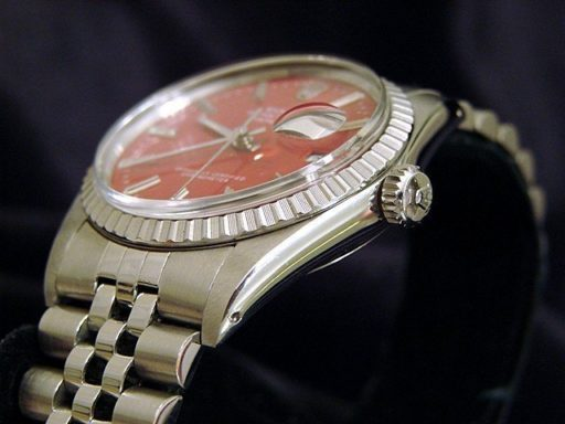 Rolex Stainless Steel Datejust 16030 Red -3