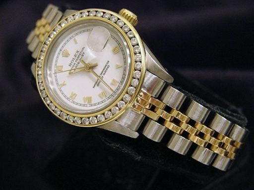 Rolex Two-Tone Datejust 69173 Diamond White-5