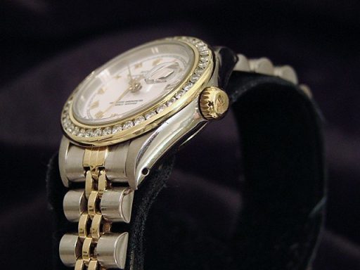 Rolex Two-Tone Datejust 69173 Diamond White-3