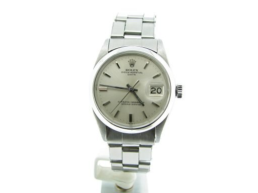 Rolex Stainless Steel Date 1500 Silver -6