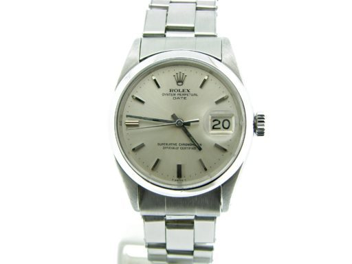 Rolex Stainless Steel Date 1500 Silver -5
