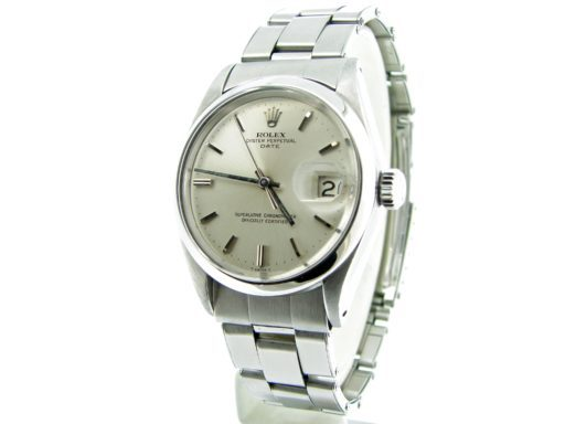 Rolex Stainless Steel Date 1500 Silver -7
