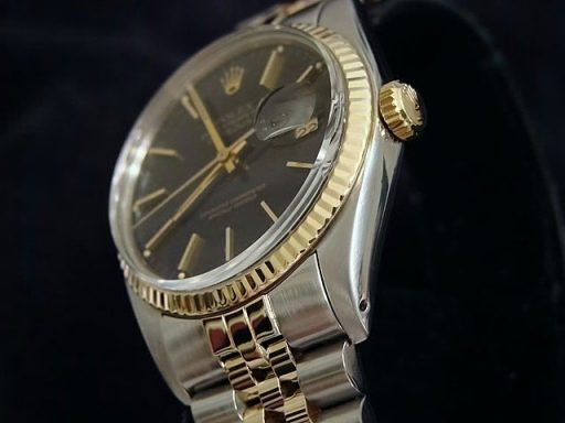 Rolex Two-Tone Datejust 16013 Black -3