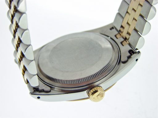 Rolex Two-Tone Datejust 1601 Silver -2