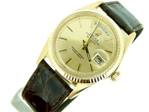 Rolex 18K Yellow Gold Day-Date President 1803 Champagne -6