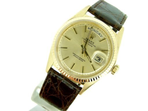 Rolex 18K Yellow Gold Day-Date President 1803 Champagne -7