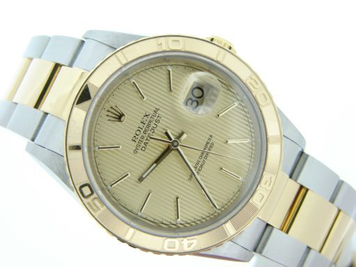 Rolex Two-Tone Datejust Turn-O-Graph 16263-5