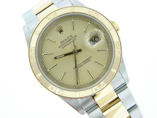 Rolex Two-Tone Datejust Turn-O-Graph 16263-4